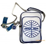 Pan Am Bag Malay Vintage White