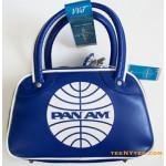 Pan Am Bag Mini Explorer Speedy Pan AM Blue