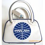 Pan Am Bag Mini Explorer Speedy Vintage White