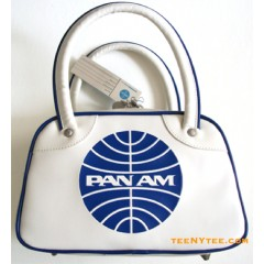 Pan Am Bag Mini Explorer Speedy Vintage White