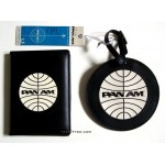 Pan Am Passport Cover & Luggage Tag Set / BLK