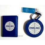 Pan Am Passport Cover & Luggage Tag Set / PB