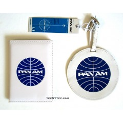 Pan Am Passport Cover & Luggage Tag Set / VW