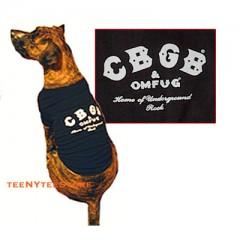 CBGB T for your Dog BLACK