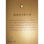 Bitten Apple BELIEVE Necklace
