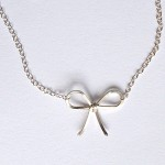 Sweetest Bow Necklace by boe