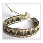 Single Wrap Glass Seed Beads Bracelet