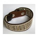 Engraved Metal Beads Snap Bracelet