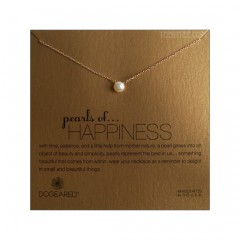 Pearls of Happiness Gold Dipped Chain 16""