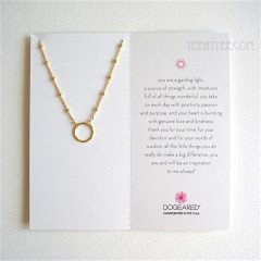 Karma Ring on Beaded Chain Gold / Boxed