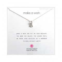 Original Monkey Make A Wish Necklace Sterling Silver Boxed