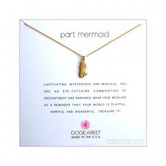 Enchanted Mermaid Charm Part Mermaid Necklace Boxed