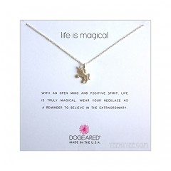 Unicorn Charm Life is magical Necklace 2017 Sterling Silver Boxed