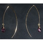 Daniela Alberts Earrings Purple