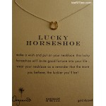 Lucky Horseshoe Gold Dipped