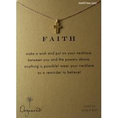 Modern Cross Make a Wish FAITH