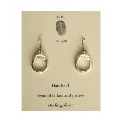 Handcuff Charm Sterling Silver