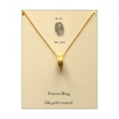 Forever Ring Necklace