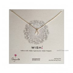 """Wish teeny Necklace Sterling Silver 18"""" by Dogeared"""
