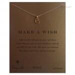 Loving Heart Reminder Necklace Gold