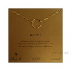 Large Smooth Karma Necklace