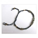 Single Wrap Seed Beads Bracelet 5 colors