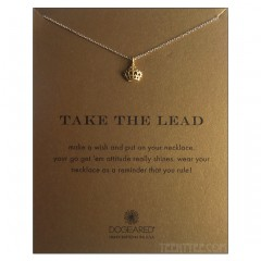 Take the Lead Necklace Coronation Crown Charm Gold