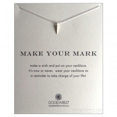 Make Your Mark Necklace Sterling Silver Spike Charm