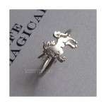 Unicorn Ring Sterling Silver