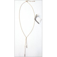 Dangling Paddles Pin Necklace by boe