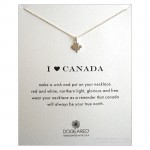 I Heart CANADA Necklace Sterling Silver