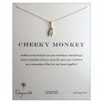 Cheeky Monkey Necklace Sterling Silver