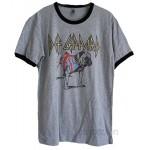 Def Leppard English Bull Dog Union Jack Ringer T-shirt