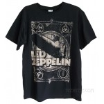 Led Zeppelin Burning Blimp Distressed T-shirt