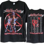 Motley Crue The Final Tour 2015 T-shirt