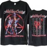 Motley Crue The Final Tour 2015 T-shirt