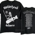 Motorhead Delivers 2015 US Tour T-shirt
