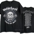 Motorhead 40th Anniversary 2015 T-shirt
