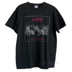 ACDC Let There Be Rock Junk Food Flea Market T-shirt