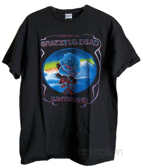05d3b2091186a Grateful Dead Winterland Rose Junk Food Flea Market T-shirt