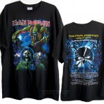 Iron Maiden The Final Frontier 2010 Tour T-shirt