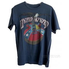 Lynyrd Skynyrd Rebel Guitar T-shirt Men / ECLIPSE