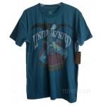 Lynyrd Skynyrd Rebel Guitar T-shirt Men / TEAL