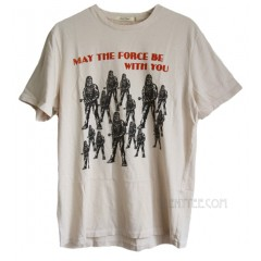 Star Wars May The Force Trunk Cotton T-shirt