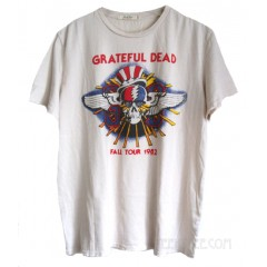Grateful Dead Fall Tour 1982 Trunk Cotton T-shirt Destroyed