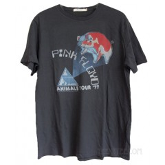 Pink Floyd Animals Tour '77 Destroyed Trunk Cotton T-shirt