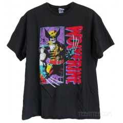 Wolverine Distressed Paff Ink 90's T-shirt