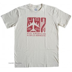 Pan Am t-shirt USPS 7 Cent Stamp