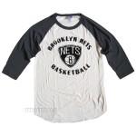 NBA Brooklyn NETS Rebound Raglan With Flocking