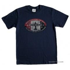Pan Am t-shirt USPS PAR AVION
